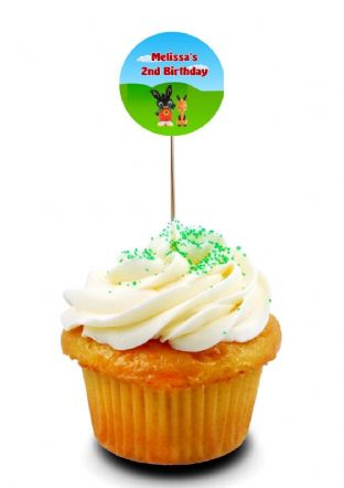 Bing Cupcake Picks/Toppers